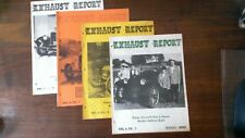 Exhaust Report - 4 issues from '62 and '63 - Antique Automobile Club of America