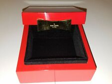 Kate Spade Garden Drive Red Lacquer Square Jewelry Box Perfect Valentines gift