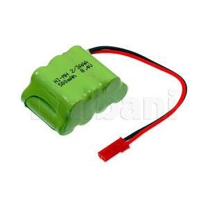 Rechargeable Battery Ni-MH 2/3AAA with Cable 2 Pin 8.4V 500mAh