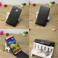 Étuis, housses et coques noirs en cuir pour téléphone mobile et assistant personnel (PDA) Universel