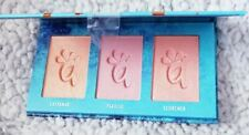 ALAMAR Blush Trio Palette FAIR LIGHT - NEW & Sealed + Makeup Brush Set