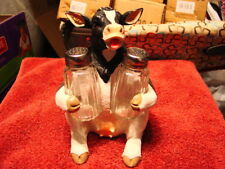 COW SALT AND PEPPER SHAKER KITCHEN SET