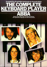 ABBA Songs For Keyboard Easy To Play Sheet Music Book Songbook Best Of Pop Chart
