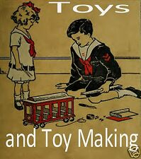 Toys & Toy Making Books CD Vintage Toymaking Old Antique Book Collection