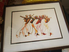 WILLIAM A. RASDELL Fine Photograph Digital Art -UNTITLED- BEAUTIFUL DANCING MEN