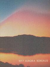AURORA BOREALIS 1977 FOREST HILLS NORTHERN YEARBOOK GRAND RAPIDS MICHIGAN