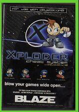 xploder CHEAT SYSTEM BLAZE ps2 playstation 2 controllo