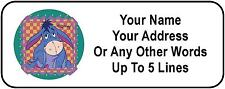 30 Eeyore Personalized Address Labels