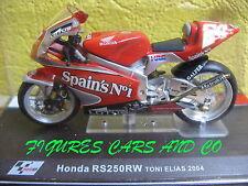 MOTO GP 1/24 SERIE 2 HONDA RS250RW TONI ELIAS 2004 MOTORCYCLE