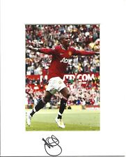 10 x 8 inch mount personally signed by Ashley Young of Manchester United.