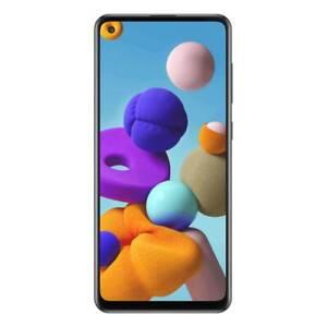 Telstra Samsung Galaxy A21s (4GX, Blue Tick,  128GB/6GB) - Black [AU STOCK]