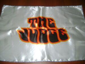 "The Judge 20x30"" Flag Banner American Garage Racing Muscle Car GTO Pontiac White"