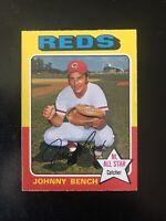 1975 O-PEE-CHEE #260 JOHNNY BENCH HOF CIN REDS— SUPER TOUGH💥*** (wph)