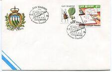 1991-05-04 San Marino la stampa filatelica ANNULLO SPECIALE Cover
