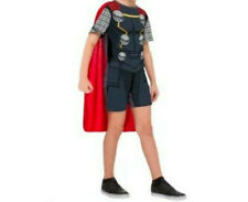 55% OFF! IMPORTED MARVEL THOR ROMPER+CAPE COSTUME SET MEDIUM 6-8 YRS BNWT $9.99