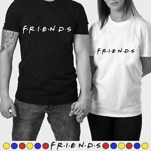 Mens Ladies Unisex Friends T-Shirt TV Series Inspired Casual Cool Funny Tee Top