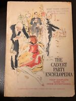 Vintage The Calvert Party Encyclopedia 1967 1960s Housewife Alcohol Cocktails