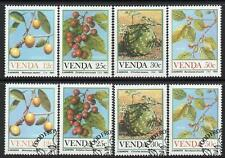 VENDA 1985 MNH & USED CTO FOOD FROM THE VELD SETS