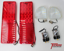 Kit 67-72 Chevy GMC Truck Fleetside LED Reverse Lamps & Tail Lights & Flashers