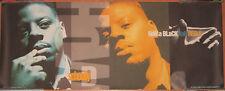 SCHOOLLY D, How Black Man Feels, Capitol promo poster, 1991, 11x28, EX, hip-hop