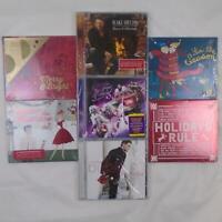 STARBUCKS CHRISTMAS HOLIDAY ALBUM COMPILATION 7 CD LOT NEW SEALED FREE SHIP TU