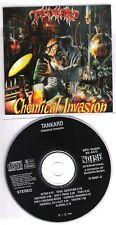 TANKARD original CD (NO barcode/black Labelside) Chemical invasion 1988 on Noise