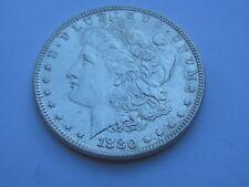 1880-P Morgan Dollar Rare Date US Mint Gem PQ Silver Coin BU Unc MS++++++#RH547