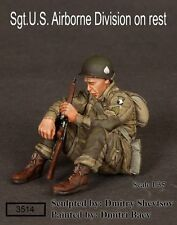 Soga Miniatures 3514 1/35 Sergeant on Rest, WWII US 101st Airborne Division