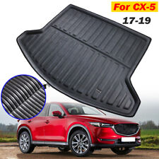 Black Rear Cargo Liner Floor Mats For Mazda CX-5 CX5 KF 2017 2019 17-19 Car