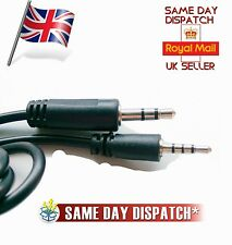 Replacement harman/kardon BT - HEADPHONES Audio cable lead 3.5mm-2.5mm male jack