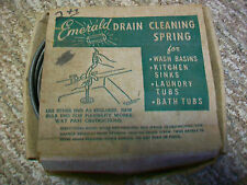 Vintage Pre-Owned EMERALD DRAIN CLEANING SPRING 25 feet plumbing