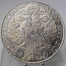 Maria Theresia Taler 1780, H37a, unc, Venice, Holy Roman Empire, Silver