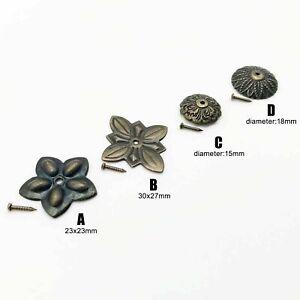 Ziernägel Polsternägel Zierzwecken Nägel Bronze Messing  BERNER Blister