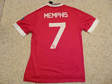 NWT Adidas 2015/16 Manchester United #7 Memphis Champions League Red Jersey (M)