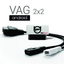VAG 2x2 Adapter für Audi Volkswagen OBDeleven Diagnose com vcd pro vas obd2 kkl