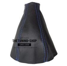 Gear Stick Gaiter For Fiat Barchetta 1995-05 Leather Blue Stitching