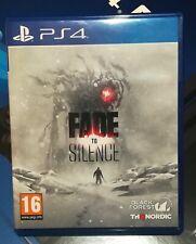 FADE TO SILENCE - SONY PLAYSTATION 4 - PS4 - MODENA