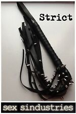 Leather flogger whip 5* HIGH QUALITY!