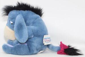 "NWT Vintage 1990's Disney Store Winnie the Pooh EEYORE 12"" Plush Doll StuffedToy"
