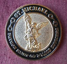 St. Michael Police Officer Prayer Challenge Coin Collectable Novelty Memorabilia