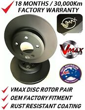 fits FORD Falcon & Fairmont XB XC XD XE XF 1975-1988 FRONT Disc Rotors PAIR