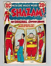 Shazam! #4  Captain Marvel vs IBAC from 1973 VF White Cover Mirrors
