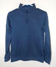 Boy's Under Armour Storm Sweater Fleece ¼ Zip YLG Blue # 1289158