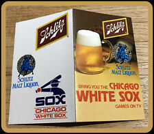 1979 CHICAGO WHITE SOX SCHLITZ BEER BASEBALL POCKET SCHEDULE FREE SHIPPING