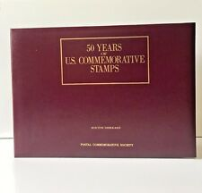 50 YEARS OF U.S. COMMEMORATIVE STAMPS 1939-1988 COMPLETE SET