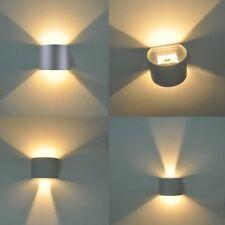 7W COB LED Außenlampe Außenleuchte Wandleuchte Terrasse Beleuchtung IP65 Grau DE