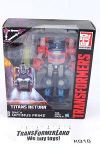 Optimus Prime Diac MISB Voyager Generations - Titans Return Transformers