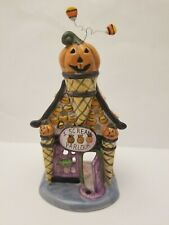 Blue Sky Clayworks I Scream Parlour Cream Halloween Goldminc Tealight Holder New