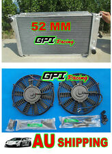 56MM RADIATOR &FAN FORD FALCON EA/EB/ED 3.2/3.9 L6 XR6/XR8 AUTO 1988-1994
