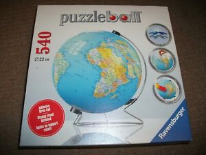 Ravensburger 3D Puzzle - The Earth Puzzleball - 540 pieces - EXCELLENT CONDITION